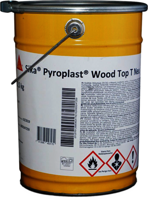 Sika Pyroplast Wood Top T matt