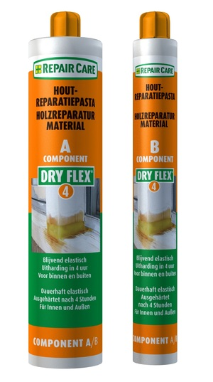 Dry Flex 4 Reparaturmasse (A+B) 400,00 ml transparent
