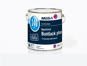 MEGA 140 Aqualack Buntlack Plus SG 930,00 ml farblos Basis 0
