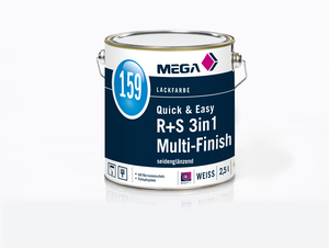 MEGA 159 Quick & Easy R+S 3in1 MultiF.