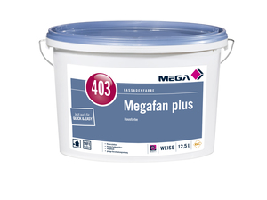MEGA 403 Megafan plus 12,50 l weiß Base A