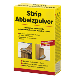 Strip Abbeizpulver 1,00 kg gelb