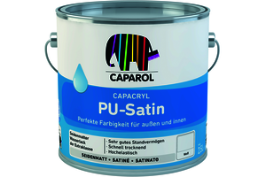 Capacryl PU-Satin 700,00 ml transparent Basis T