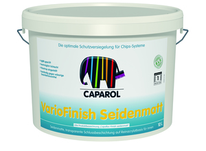 Capadecor VarioFinish seidenmatt 10,00 l transparent