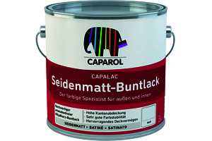 Capalac Seidenmatt-Buntlack 600,00 ml transparent Basis