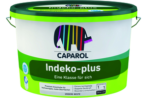 Indeko Plus 5,00 l weiß Basis 1
