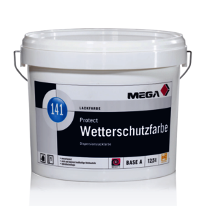 MEGA 141 Protect Wetterschutzfarbe 2,30 l transparent Base C