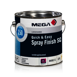 MEGA 150 Quick & Easy Spray Finish SG 2,50 l weiß