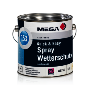 MEGA 153 QuickEasy Spray Wetterschutz