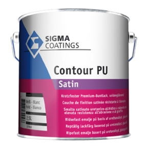 Contour PU satin 790,00 ml farblos Base ZX