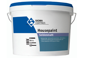 Housepaint 4,62 l farblos Base ZN